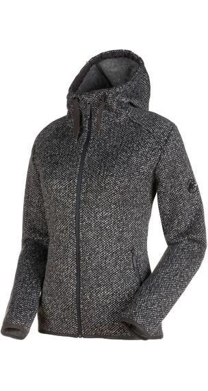 Mammut Chamuera ML sweater Dames zwart